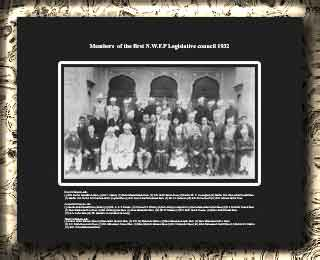 Members  of the first N.W.F.P Legislative council 1932